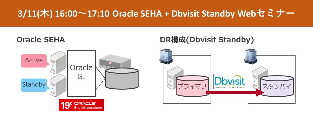 3/11開催SIOS社共催Oracle SEHA+Dbvisitセミナーのお知らせ